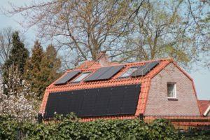 Panneaux photovoltaique sur maison