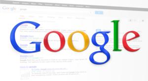 Page de resultat google