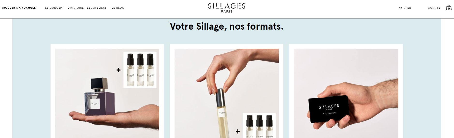 laboratoire parfums personnalises sillages paris