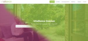 nouveau lancement du site vitalliance-evasion.fr