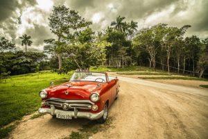Voiture classique a Cuba