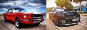 voiture americaine ford mustang