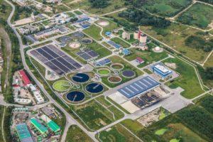 Station ed traitement des eaux usées
