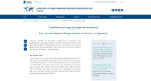 fondation adenauer projet en republique democratique du congo