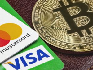 cryptomonnaie et visa